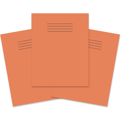 (D)Exercise Book 230x180 64p F8M Orange