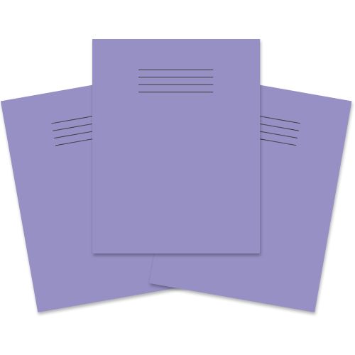 Exercise Book 230x180 80p F8M Purple