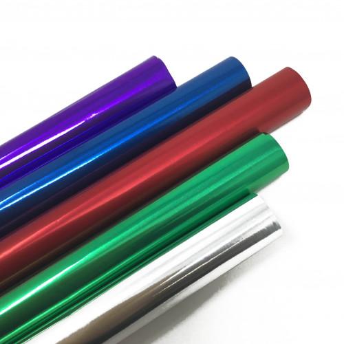 (5)ASSTD PACK 2/S FOIL ROLLS 500mmx800mm