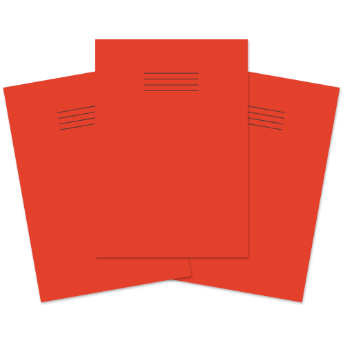 Project Book A4 32p F15/B Red