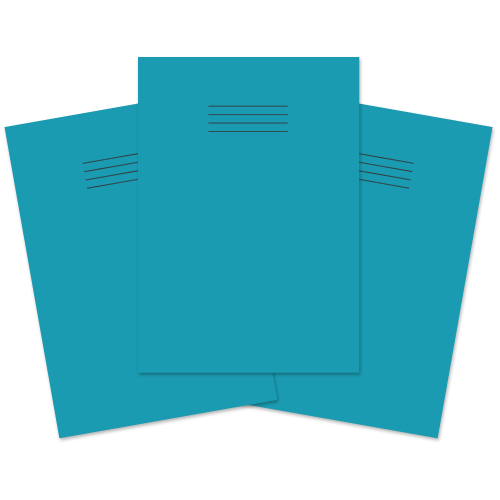 Exercise Book A4 48p F8M Lt Blue