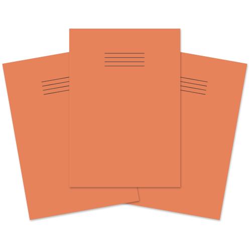 Exercise Book A4 60p S5 Orange Pk50