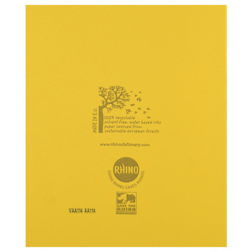 Exercise Book 205x165 48p F8M Yellow