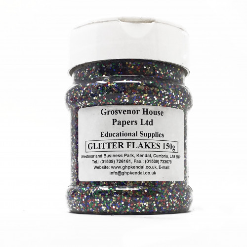 MULTI COLOURED GLITTER SHAKERS 150gram