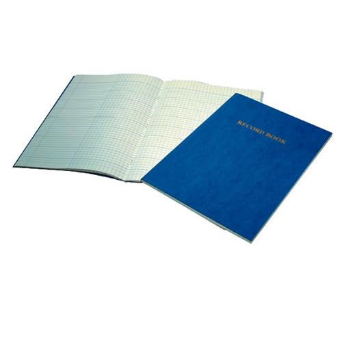 Record Book A4 80p Dk Blue Pk5