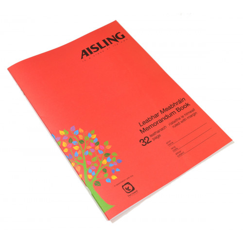 Aisling Exercise Book A4 32p F8M Pk5