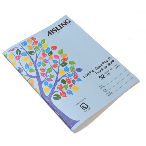 Aisling Exercise Book 226x178 32p B Pk10