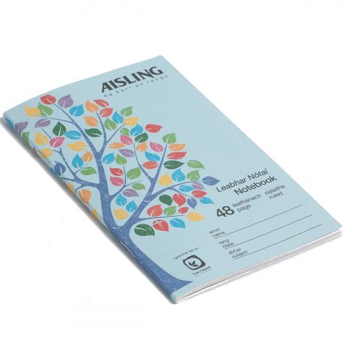 Aisling Notebook 165x102 48p F7 Pk10
