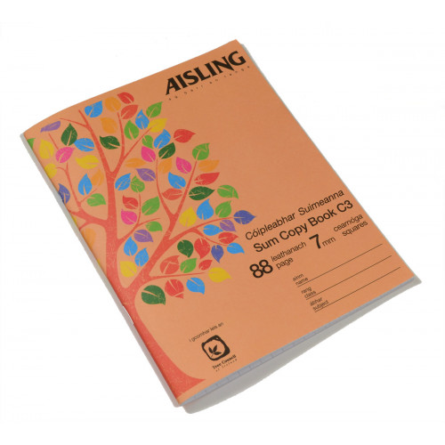 Aisling Exercise Book 200x165 88p S7Pk10