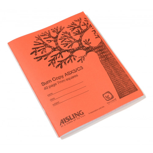 Aisling Exercise Book 200x165 40p S7Pk10
