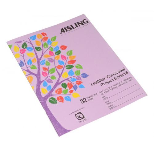 AislingExerciseBook226x178 32pTB/F15Pk10
