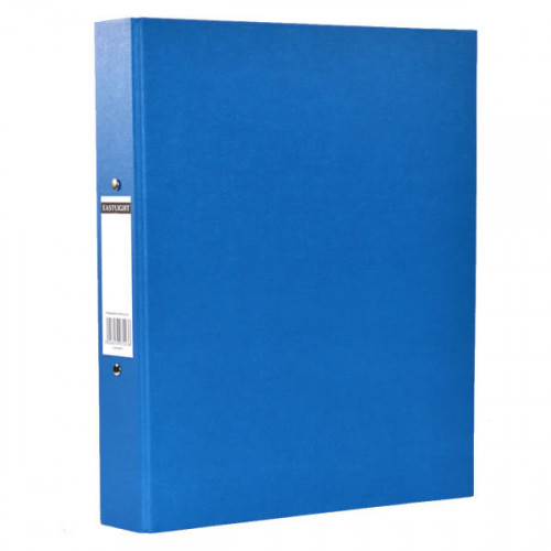 RINGBINDER 2 RING A4 BLUE PK10