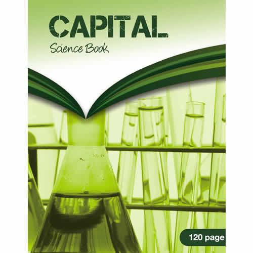 Capital Science Book A4 120p F8M/G2 Pk5