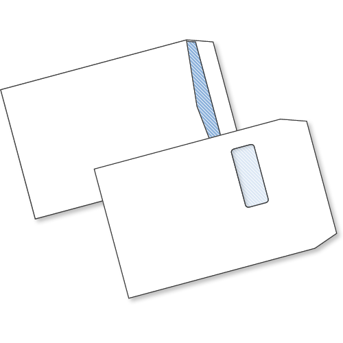 White S/Seal Window Env C4 100gsm Box250