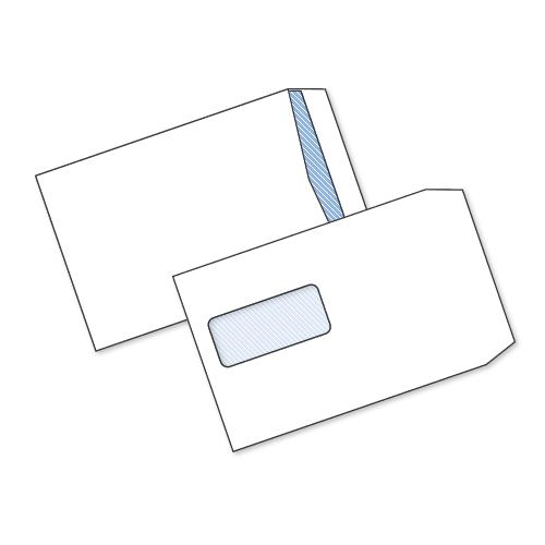 White S/Seal Window Env C5 90gsm Box500