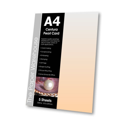 Accent Copper C/Pearl A4 330m Pk5