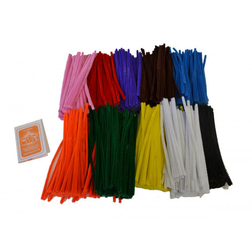 Pipe Cleaners 15cm Pk1000 Assorted