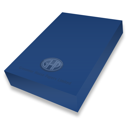 COBALT BLUE CARD A4 300mic PK50