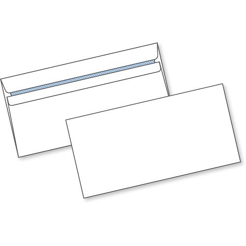 White Self Seal Env DL 80gsm Box1000