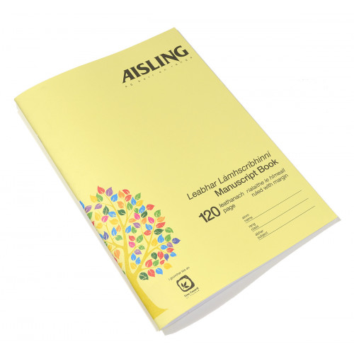 Aisling Exercise Book A4 120p F8M Pk5
