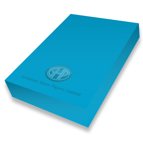DEEP BLUE CARD A4 300mic PK50