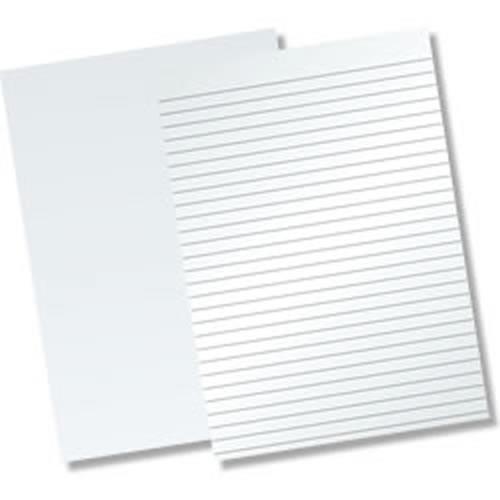(D)Memo Pad No Top A4 80L Blank Pk10