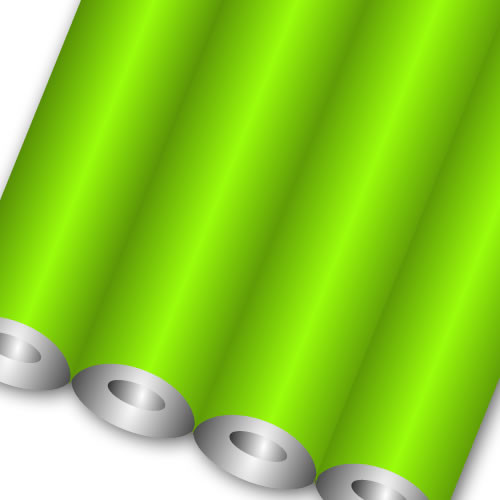 FLASH GREEN FLUORESCENT ROLLS 760mmx10m