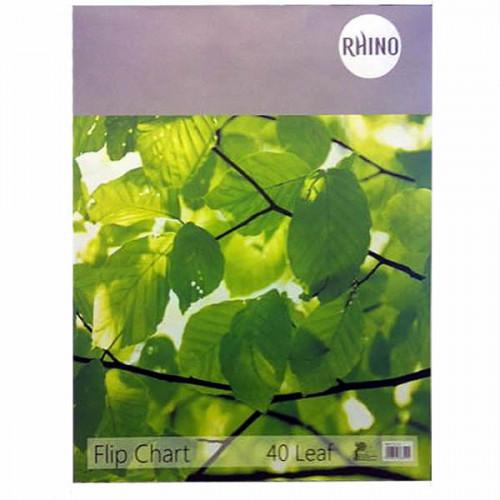 Rhino Flip Chart 40 Leaves A1, Pk5