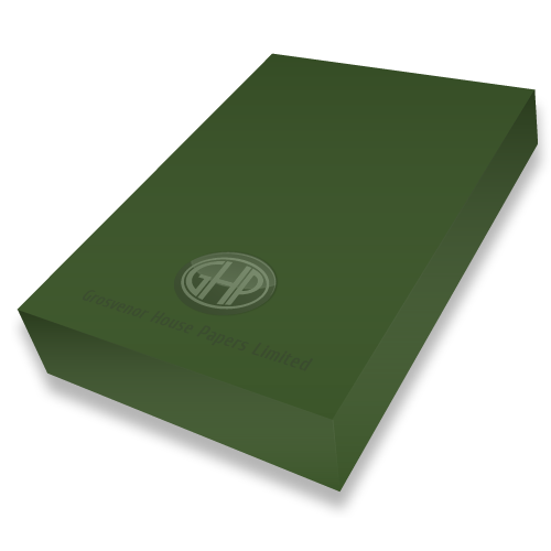 DISCONTINUED FOREST GREEN CARD A4