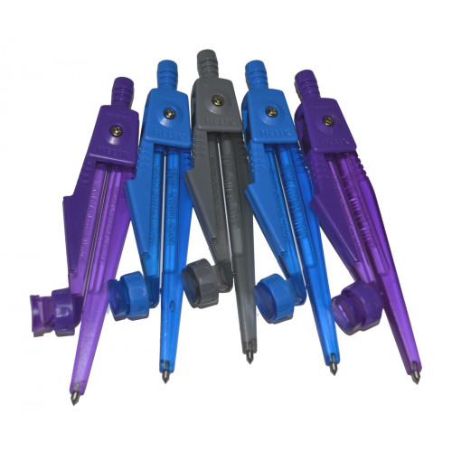Helix Plastic Safety Compass Pk25