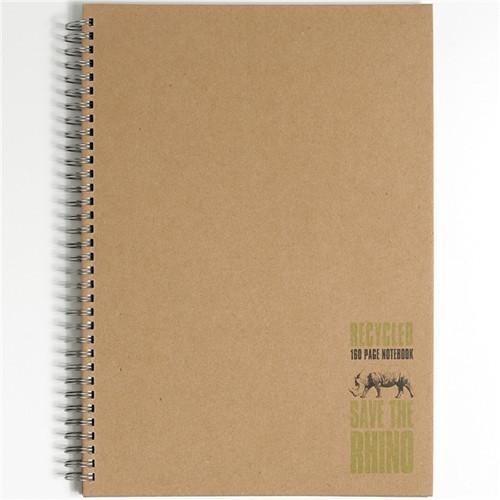Rhino Twinwire Books A4 160p F8 Pk5