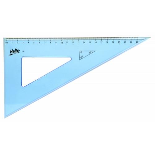 Helix Set Square 26cm 60 deg Pk25