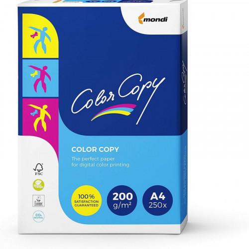 A4 Mondi Color Copy White 200gsm | 250 Sheets