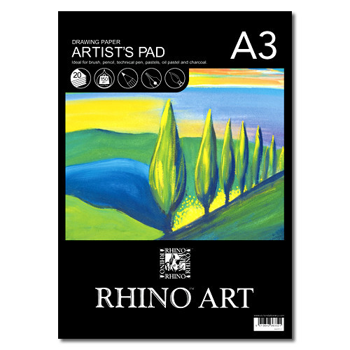 (D)Rhino Sketch Pad A3 20L HB Pk4