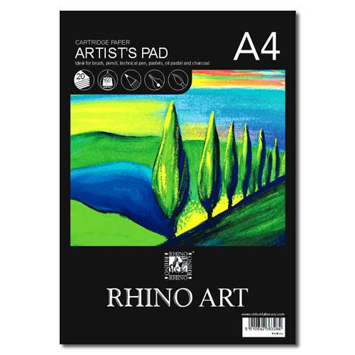 (D)Rhino Sketch Pad A4 20L HB Pk6