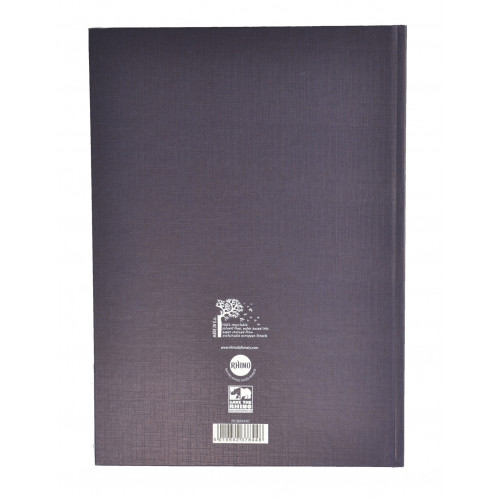 (D)Rhino Indexed Casebound Bk A5 192 F8 Pk5