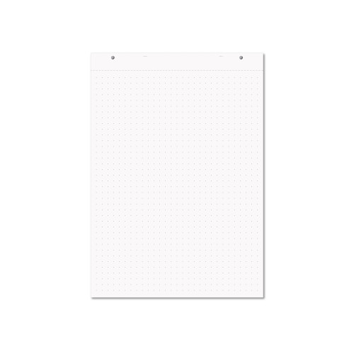 Rhino A1 educational Dotted Flip Chart Pad 30 Leaf 20mm Dotted with Plain Reverse