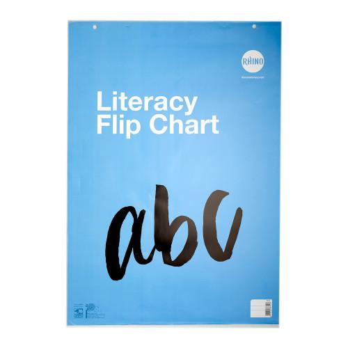 Rhino Literacy Flip Chart A1 30 Leaves