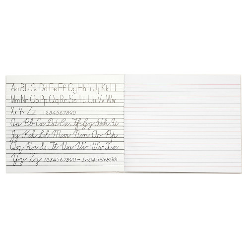 RHINO 6 x 8 Learn to Write Book 32 Page, Wide-Ruled LTW6B:20R (Pack 25)