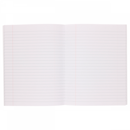 Rhino Notes Notebook 100 Pages 8mm Ruled & Margin - Pack of 6
