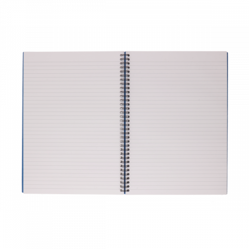RHINO A4 Twinwire Casebound Book 160 Page, F8 (Pack 5)