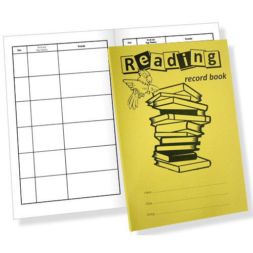 Reading Record Book 200x148mm 40 Page