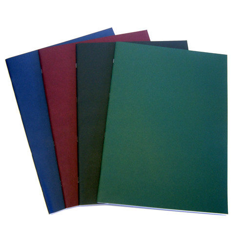 Sketch Book Portrait A4 with 40 Pages of Cartridge Paper - Red Cover - Pack of 5