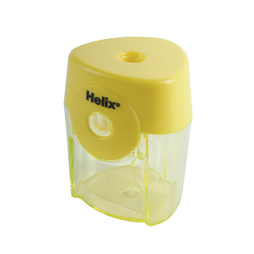 Helix Tri Face Pencil Sharpener Pk 12