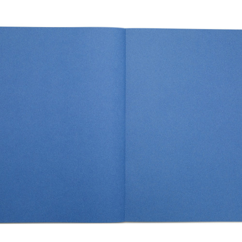 Scrapbook 80 Pages Plain Coloured Paper Printed Cover