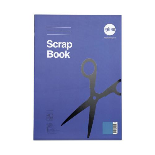 RHINO 13 x 9 Scrapbook 24 Page Blue Sugar Paper (Pack 12)