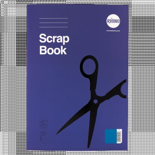 RHINO 13 x 9 Scrapbook 36 Page Blue Sugar Paper (Pack 6)