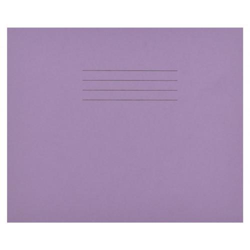 Writing Bk 160x200 32p 4B/15R Purple