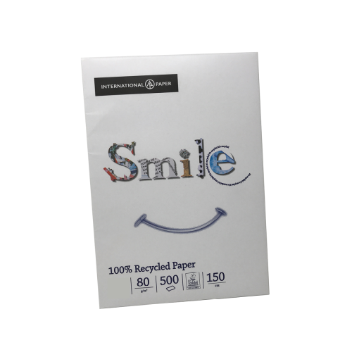 Smile White Recycled**A3*80gsm Pk500