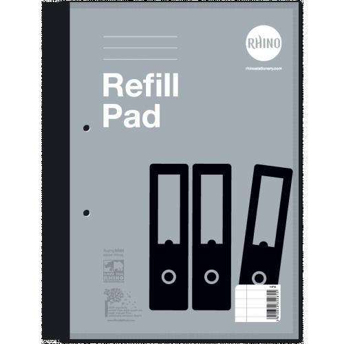 Rhino Refill Pads A4 80L F8M SB Pk10